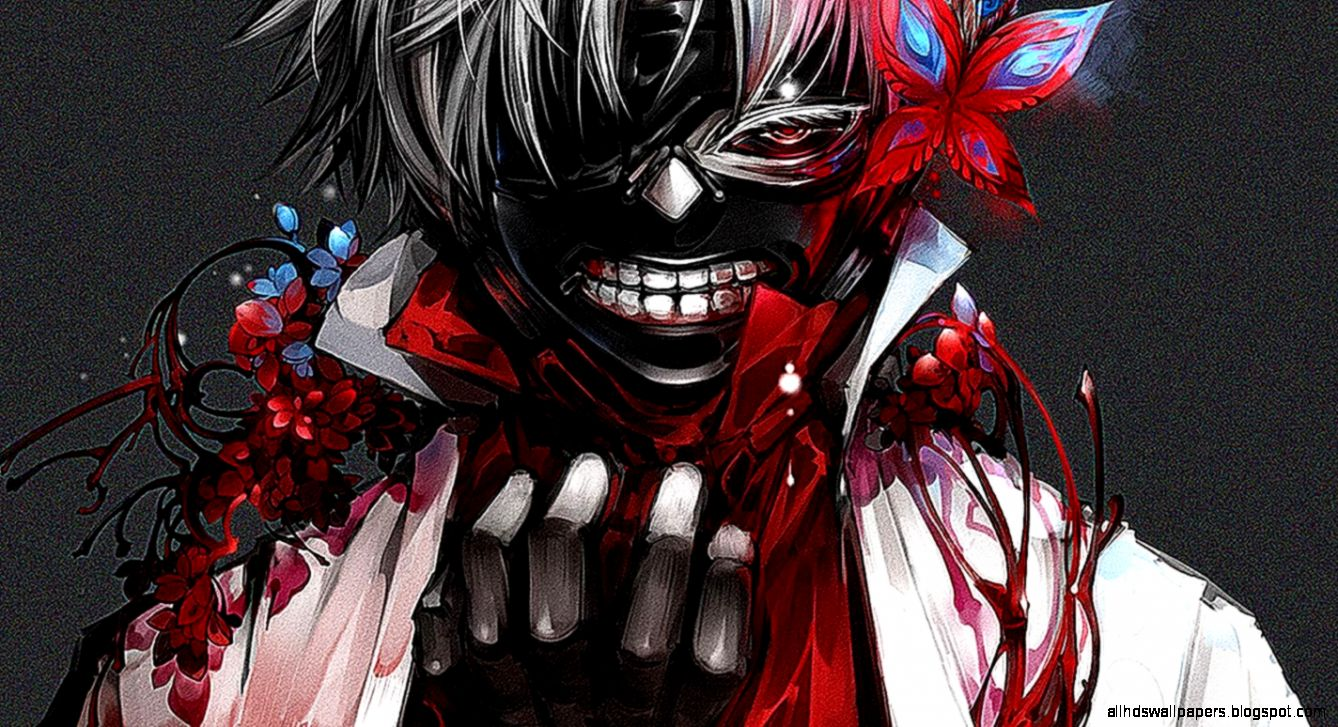 Tokyo Ghoul Scary Mask Wallpaper | All HD Wallpapers