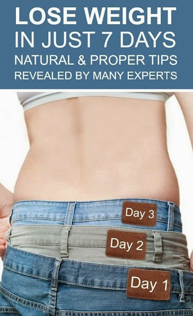 6 Very Simple Tips To Lose Weight In One Week