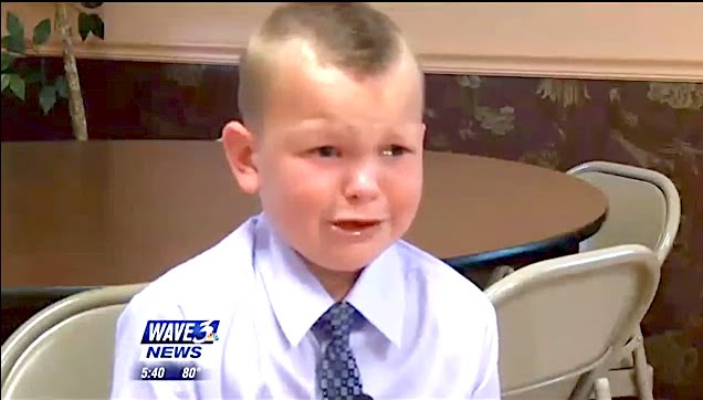 A 5-Year-Old Still Emotional When He Describes How He Saved His Father's Life