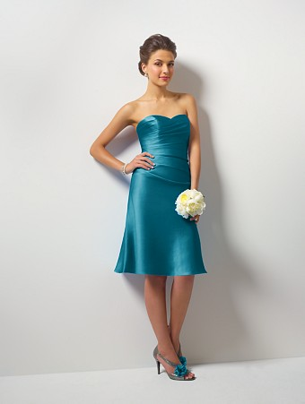 Teal bridesmaids dresses have your dream wedding for Teal dress for wedding