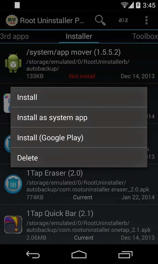 Root Uninstaller Pro v6.3