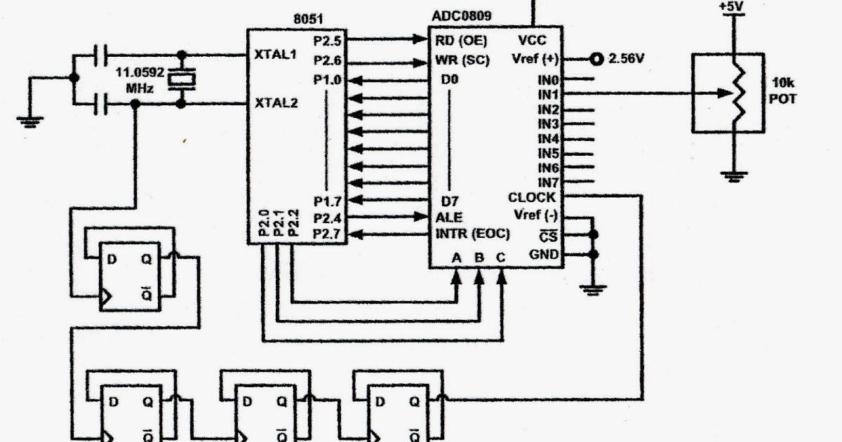 week 5 fyp 2 design circuit intelligent automatic plant rh sai dono blogspot com ADC0809 Data Sheet Piping and Instrumentation Diagram