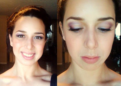 bridal trial natural makeup