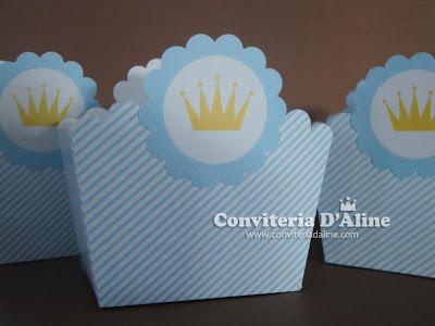decoração festa príncipe azul