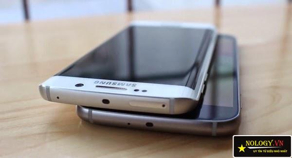 Điện thoại Samsung Galaxy S6 và Samsung Galaxy S6 Edge.