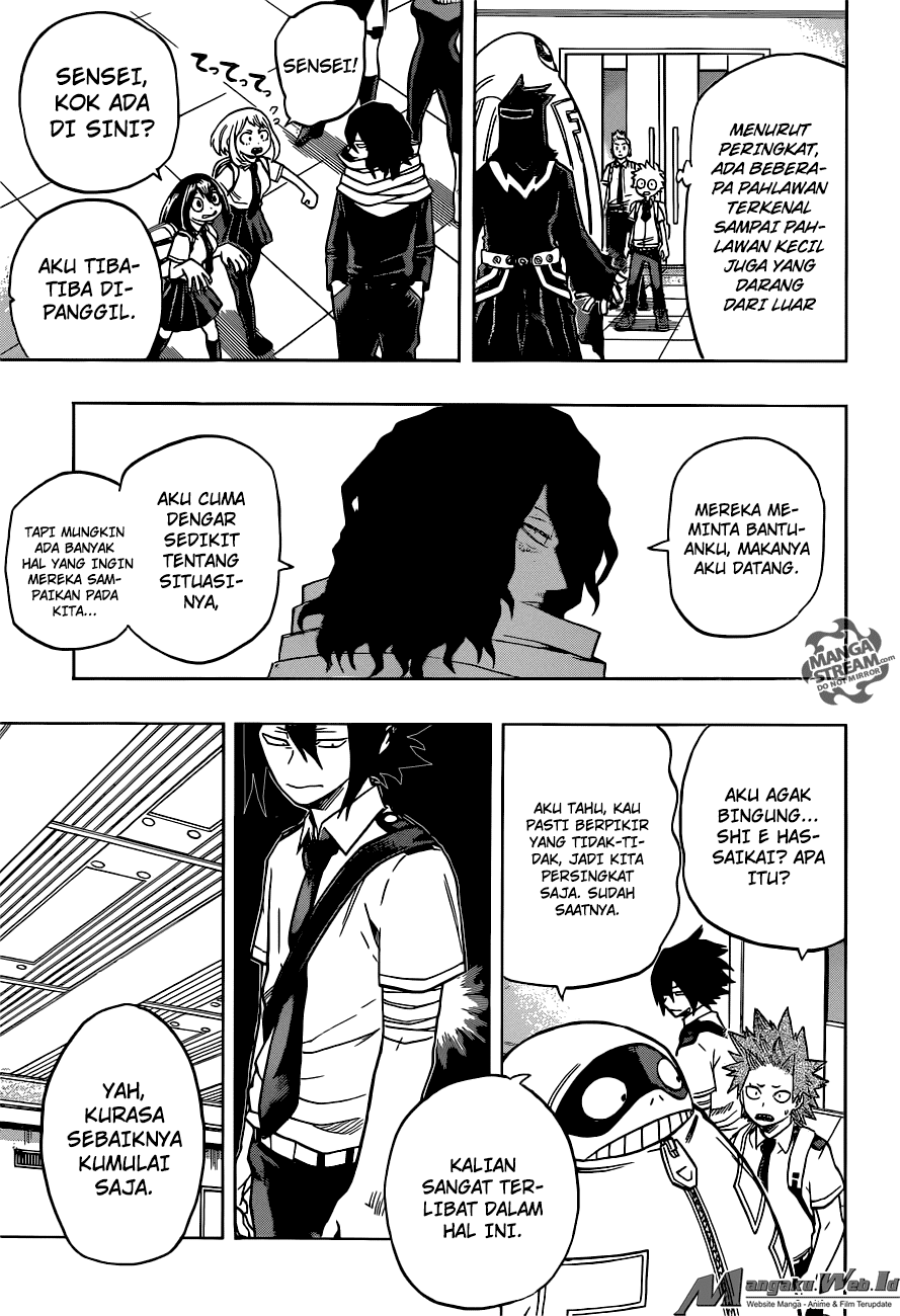 Boku no Hero Academia Chapter 135-3