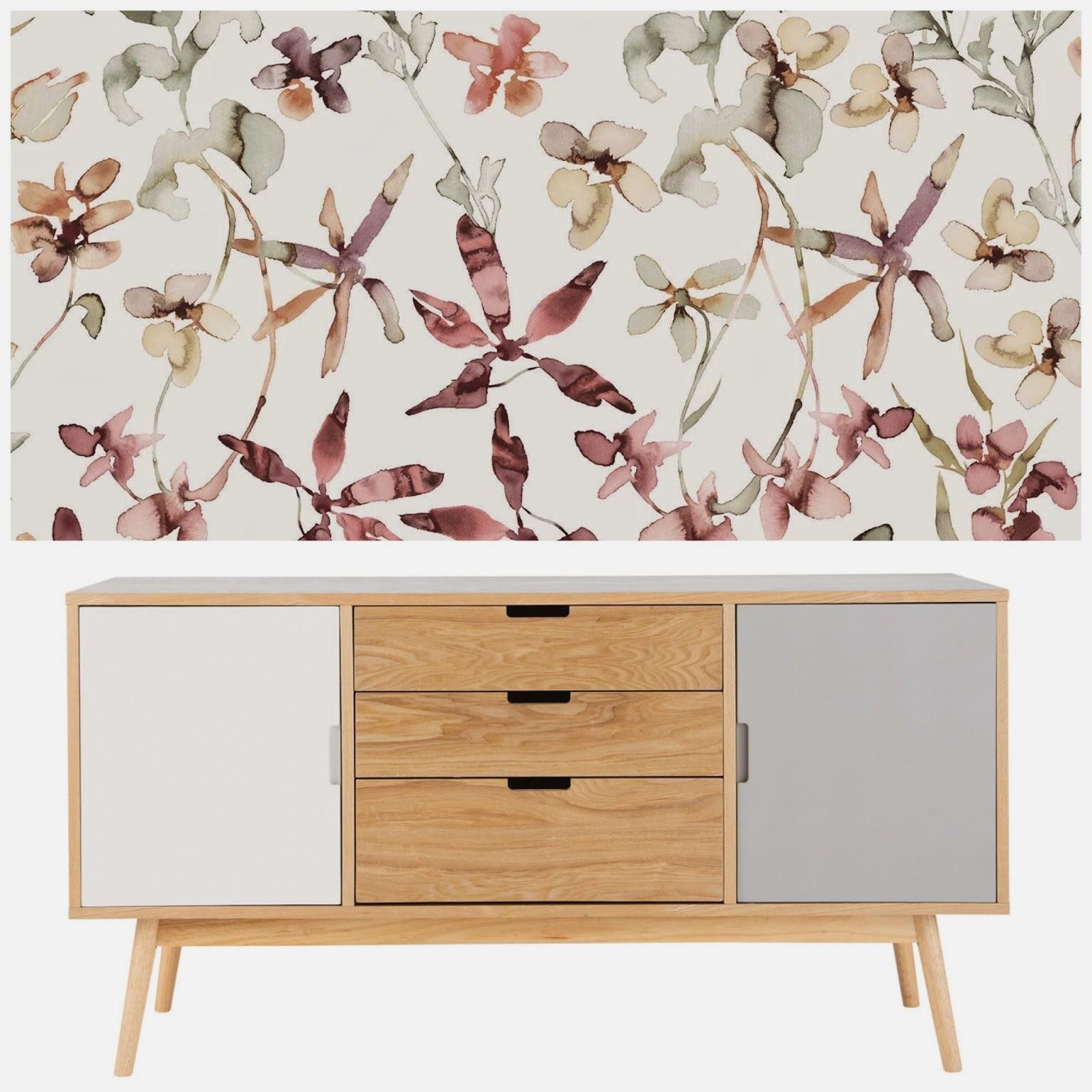 decoración de salón mueble estilo nórdico