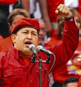 COMANDANTE HUGO CHAVEZ FRIAS PRESENTE! AHORA Y SIEMPRE!