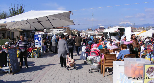 Street Food Area At Fethiye Market