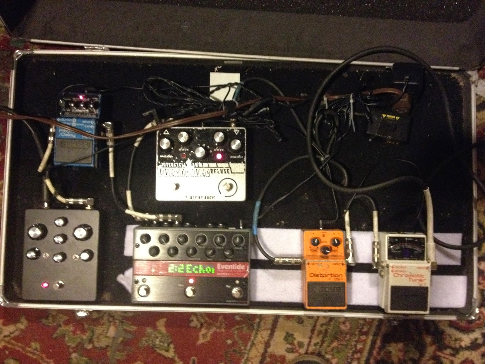 Get Yer Pedals Out Starring Travis Johnson Grooms Pedal Board Wiring