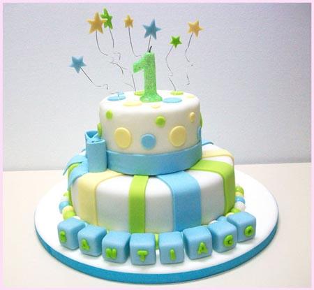 Nuevas Tendencias en Decoración de Tortas: Tortas para Nacimiento ...