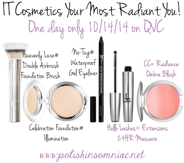 IT Cosmetics Your Most Radiant You! QVC TSV 10/14/14