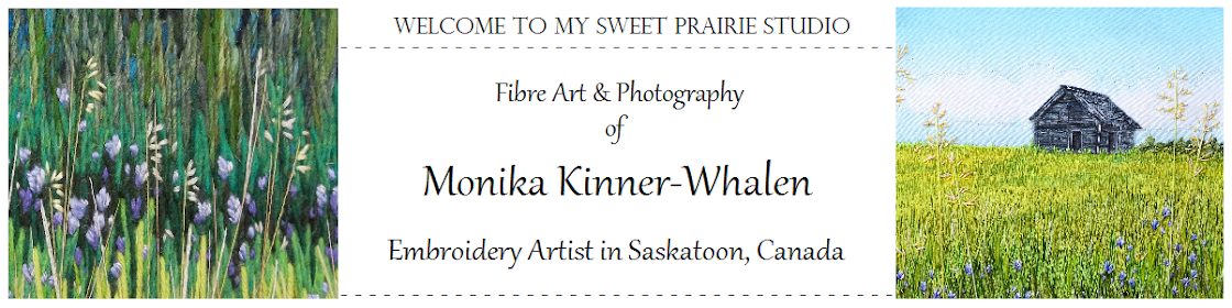 My Sweet Prairie Studio / Art by Monika Kinner-Whalen