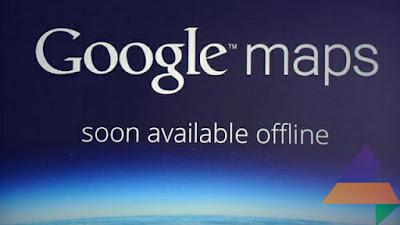 Cara Google Maps Offline untuk Android