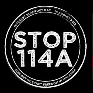 Eyriqazz Vs Denaihati Komuniti internet bantah Seksyen 114A Akta Keterangan 1950, kempen #STOP114A mendapat sokongan warga internet