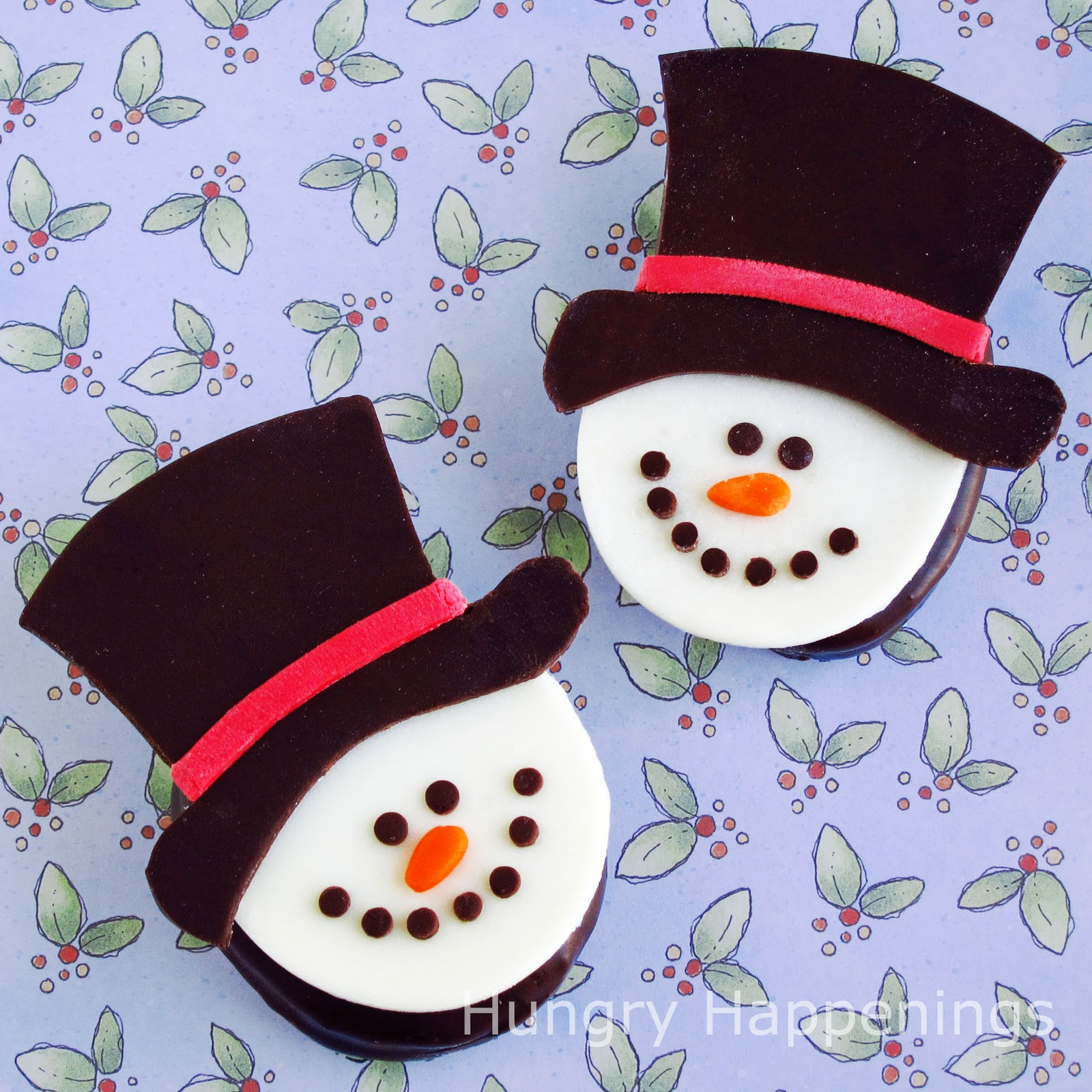 Twelve days of sweet designs, day 7 - Snowman on Chocolate Covered ...