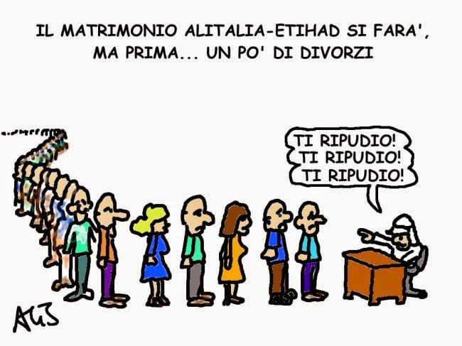 vignetta Alitalia, etihad