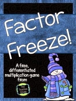 http://www.teacherspayteachers.com/Product/Factor-Freeze-A-Differentiated-Multiplication-Game-1531830