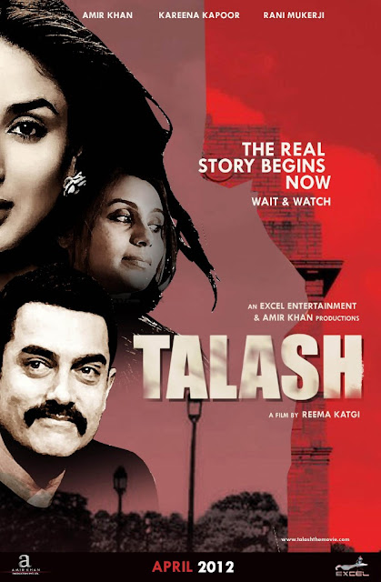 Amir Khan Latest Movie Talash Movie First Look