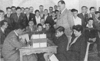 Partida de ajedrfez Medina - Pomar