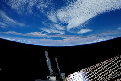 Η Γη από τον Διεθνή Διαστημικό Σταθμό