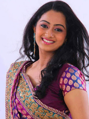 Namitha Pramod Saree navel show photos