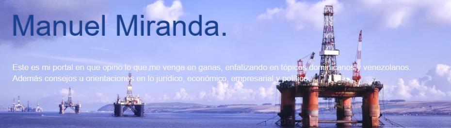 Manuel Miranda.