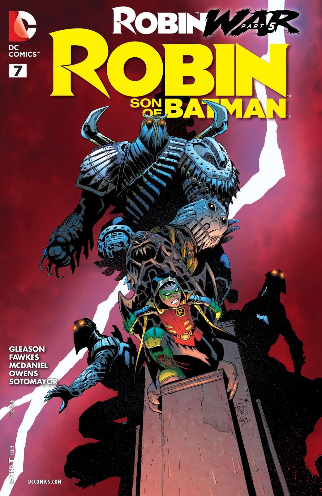 """El Blog de Batman: Reseña: """"Robin: Son of Batman"""" #7 ..."""