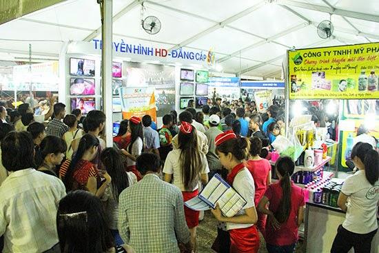 SCTV tham gia Hội chợ Hàng Việt Nam