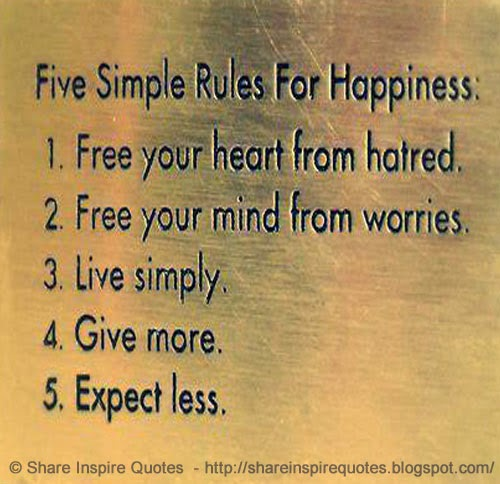 Free Your Mind Quotes Fair Five Simple Rules For Happiness1Free Your Heart From Hatred2