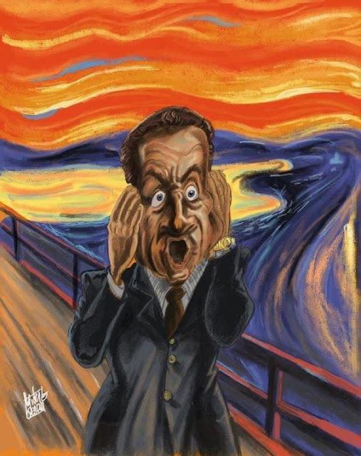 Edvard Munch, Kirk, Cri, O Grito, Nicolas Sarkozy