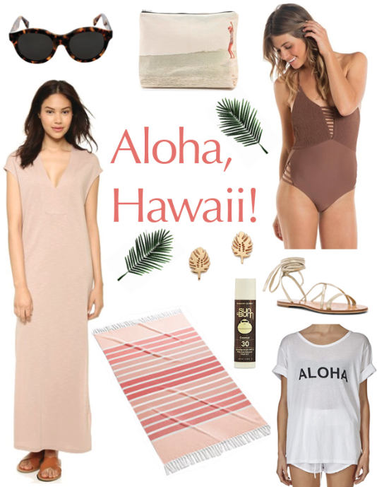 Hawaii, style board, Current Habits, inspiration, Shae Roderick, vacation, travel