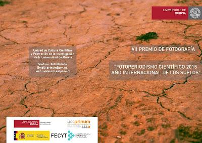 VII Premio de fotografía - Fotoperiodismo científico 2015. Año internacional de los suelos.