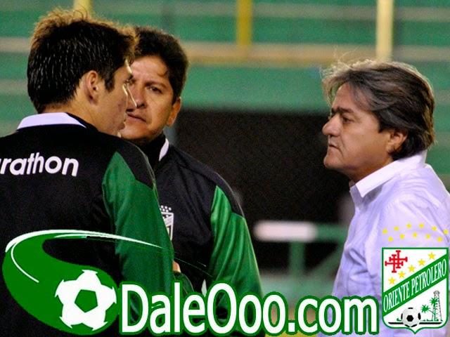 Oriente Petrolero - Ronald Raldes - Eduardo Villegas - Keko Álvarez - DaleOoo.com sitio del Club Oriente Petrolero