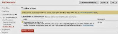 Blog Deindex Google