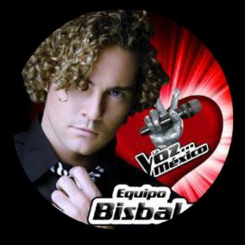 Equipo David Bisbal en La Voz Mexico