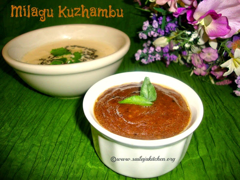 images for Milagu Kuzhambu / Easy Pepper kuzhambu Recipe / Molagu Kuzhambhu / Pepper Kuzhambu