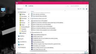 Cara Mengaktifkan Godmode Tool Di Windows 10