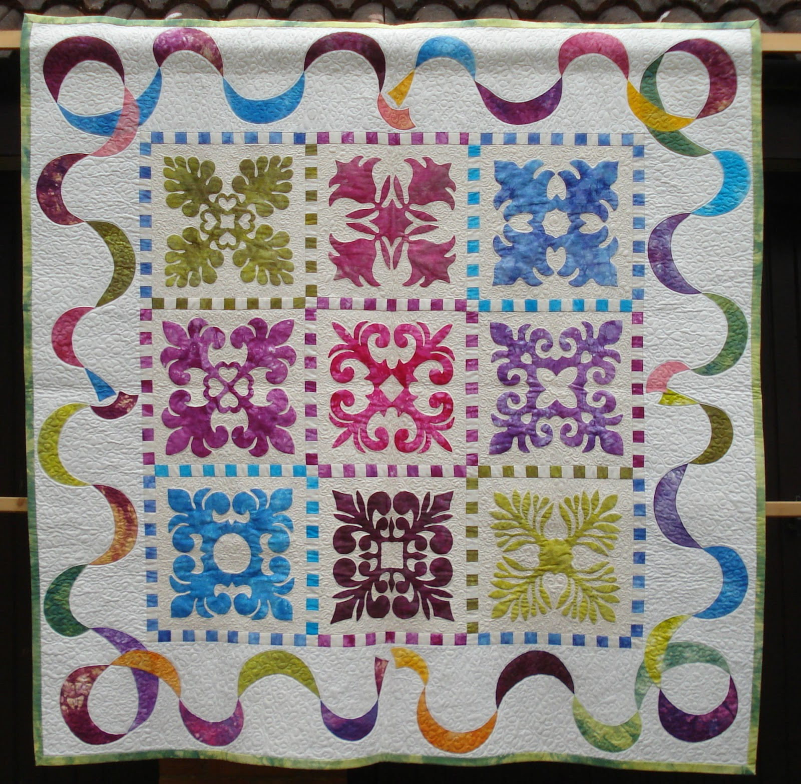 Quilting Designs For Borders : Welsh Quilts: Pippa Moss Quilts 3