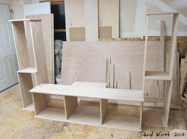basic tv stand frame, build, make, plans