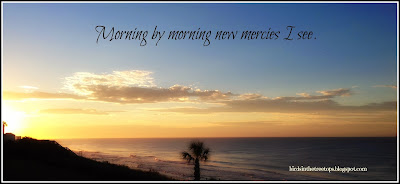 beach, sunrise, morning, Great is Thy Faithfulness