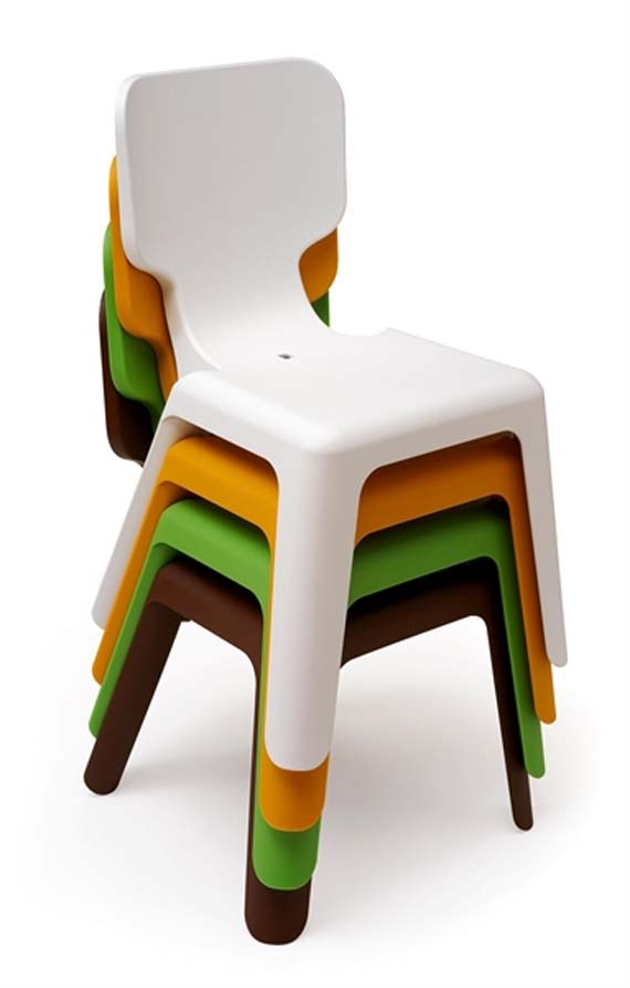 Home design cool and bright table and chairs design for Cool furniture for kids