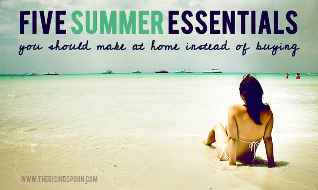 5 summer essentials you should make instead of buying the rising spoon. Black Bedroom Furniture Sets. Home Design Ideas