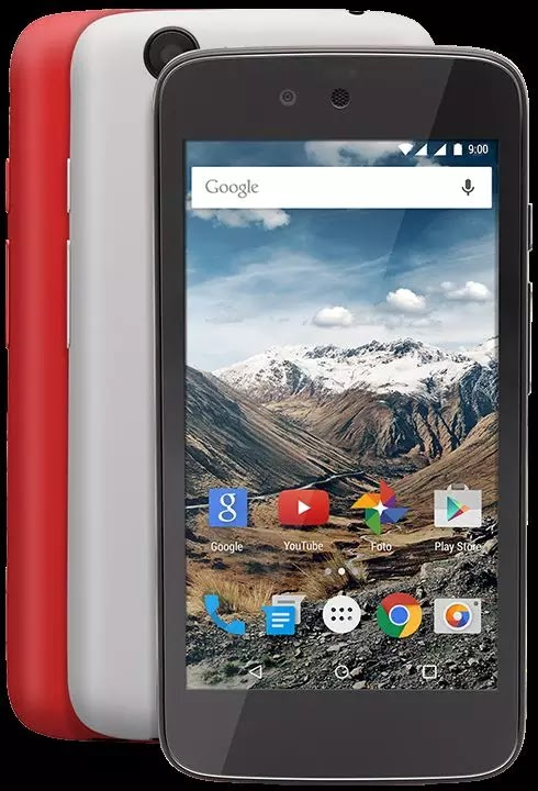 harga dan spesifikasi Nexian Journey 1 AndroidOne