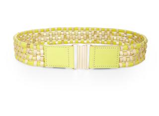 bcbg woven belt bright waist