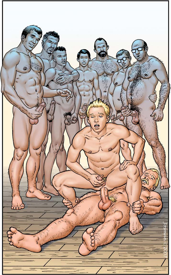 Men gay cartoon comics