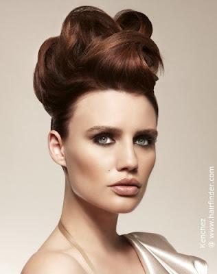Peinados Rizos Y Trenzas Elegante Pelo Recogido Veraniego Para El 2013 - Los-recogidos-mas-elegantes