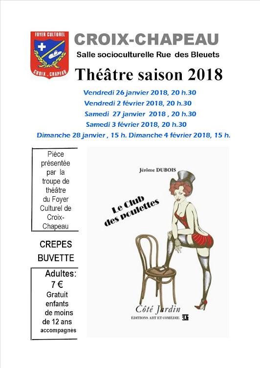 Théâtre saison 2018