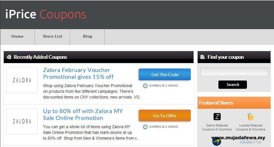 iPrice coupons, shopping online, diskaun hebat, membeli online dengan harga diskaun
