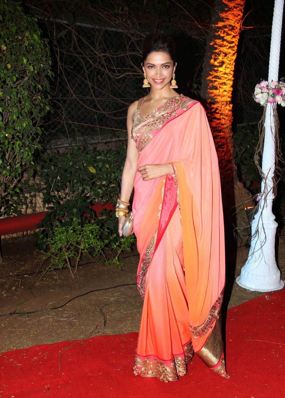 Deepika Padukone At Ahana Deol's Wedding Reception